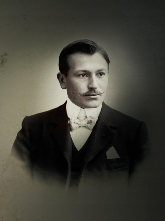 Hans Wilsdorf, founder of Rolex and Tudor.