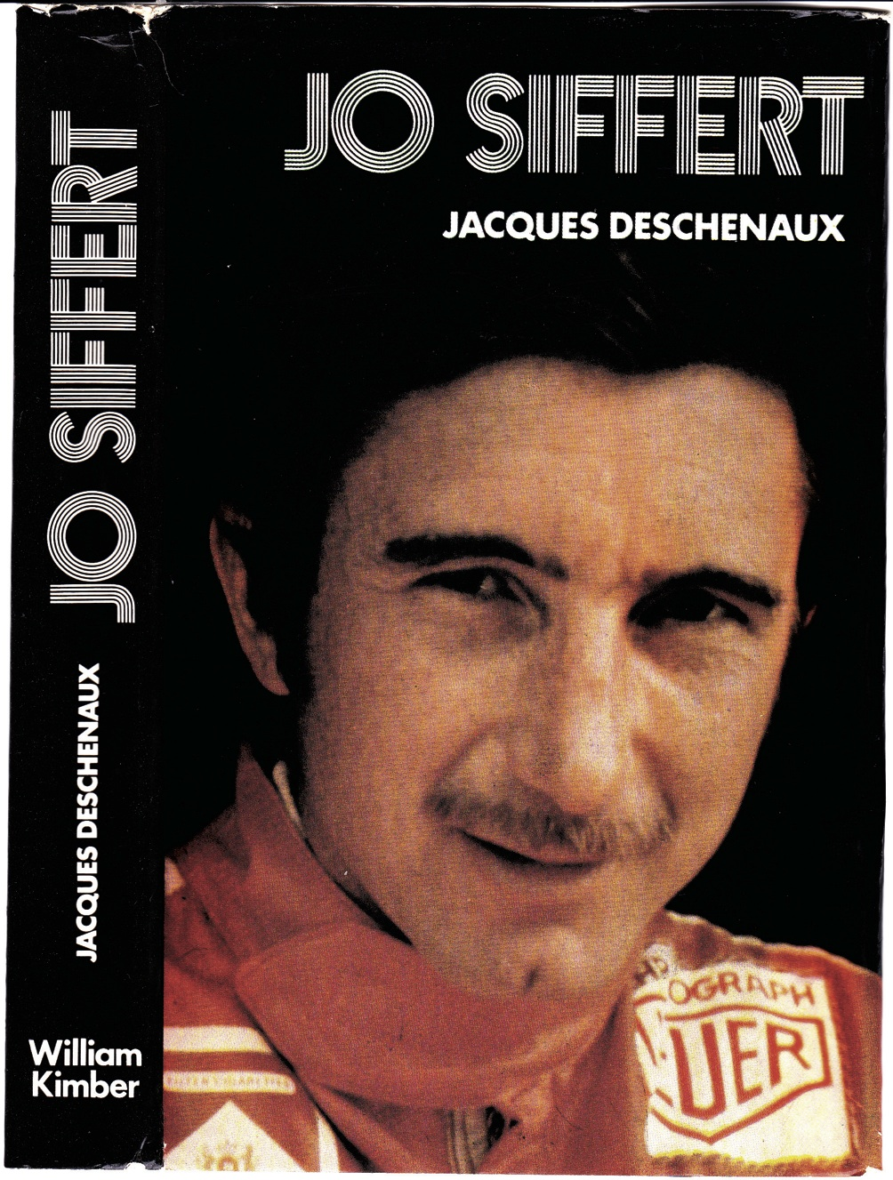 The cover of the book on Joe Siffert.