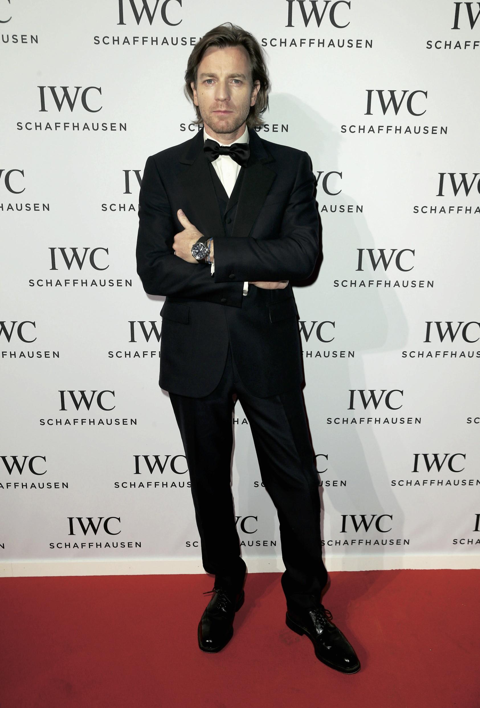 Ewan McGregor in IWC.