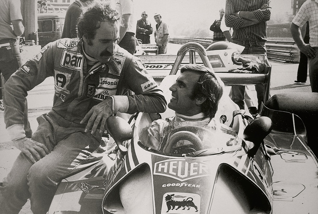 Clay Regazzoni and Carlos Reutemann.