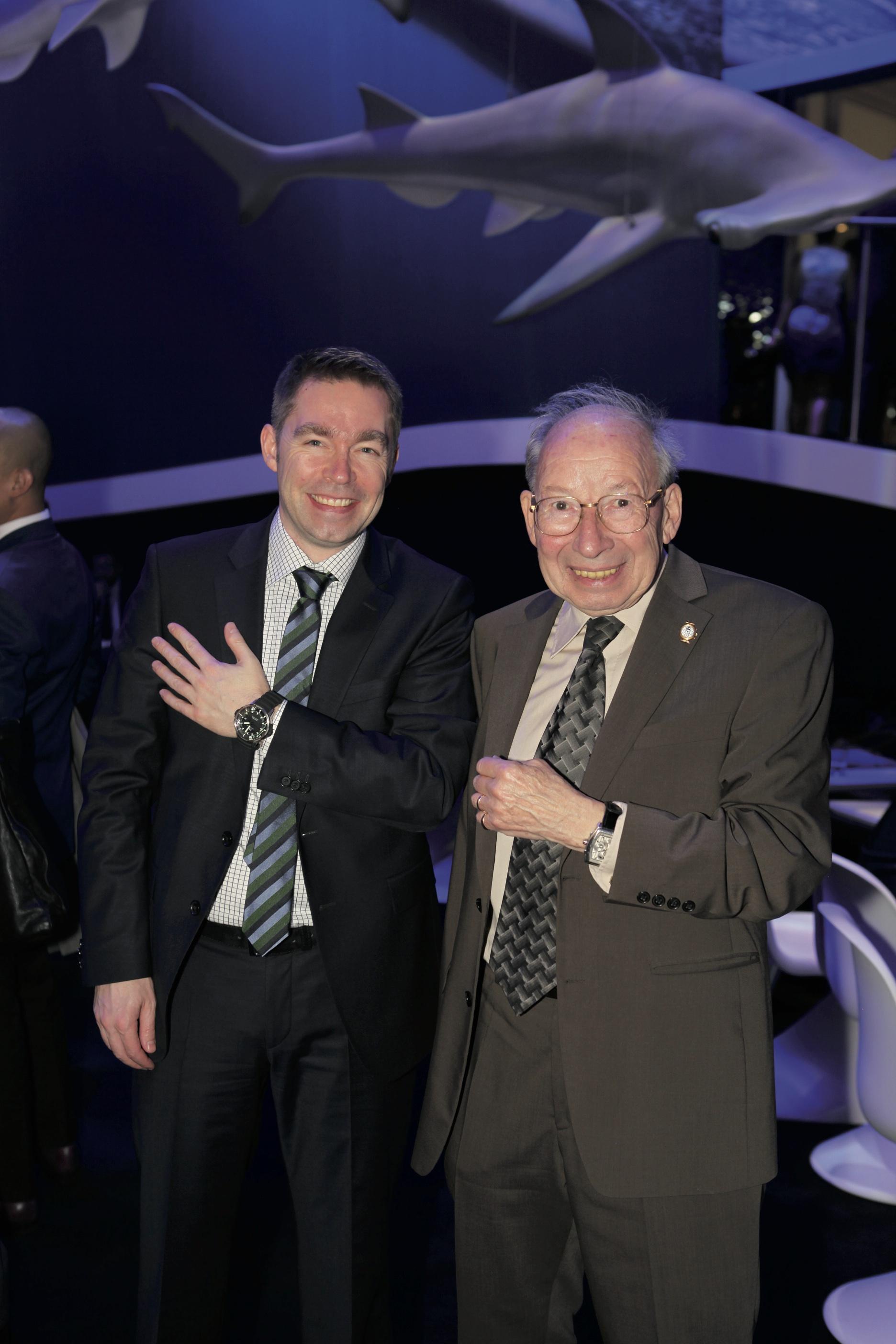 Stefan Ihnen and Kurt Klaus, IWC.