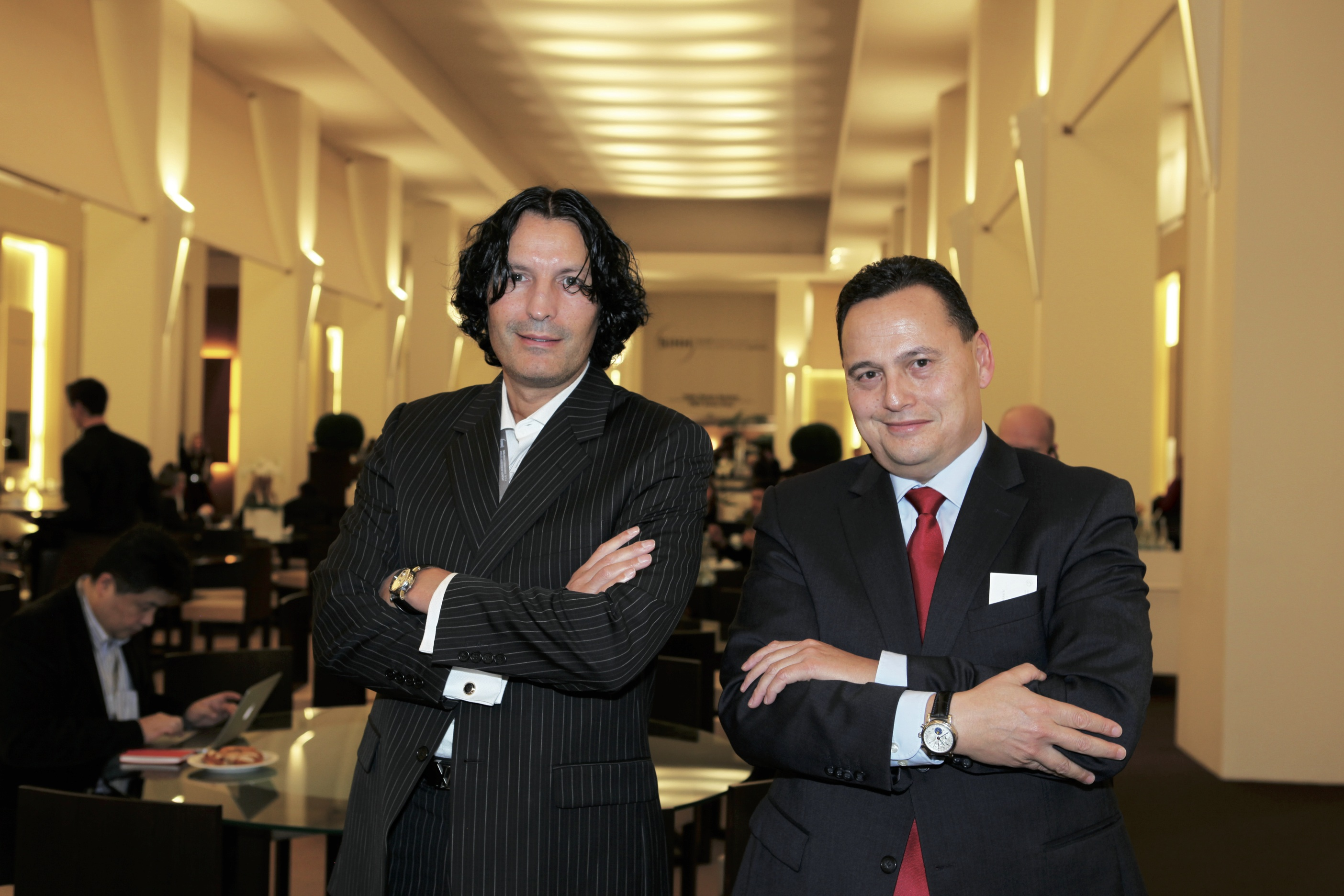 Daniël Reintjes and Maurice Doppert,  Christian van der klaauw.
