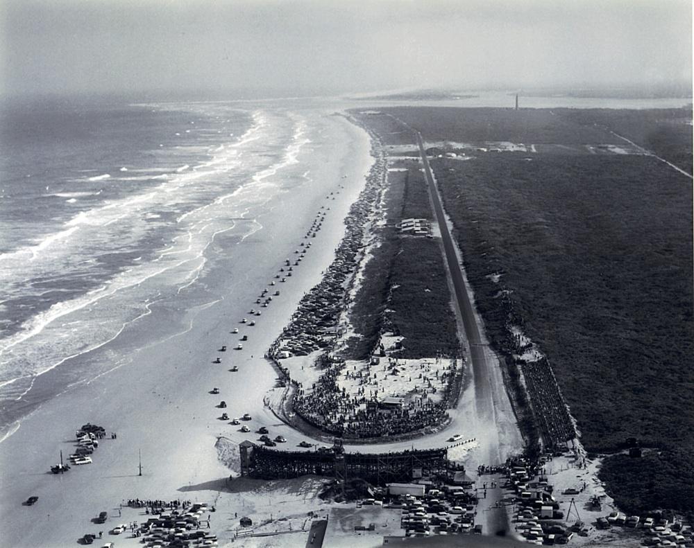 Daytona Beach 1955.