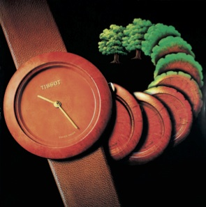 The Wood Watch was also introduced during the 1980's. It became huge, but not as huge as its predecessor, the Rock Watch.