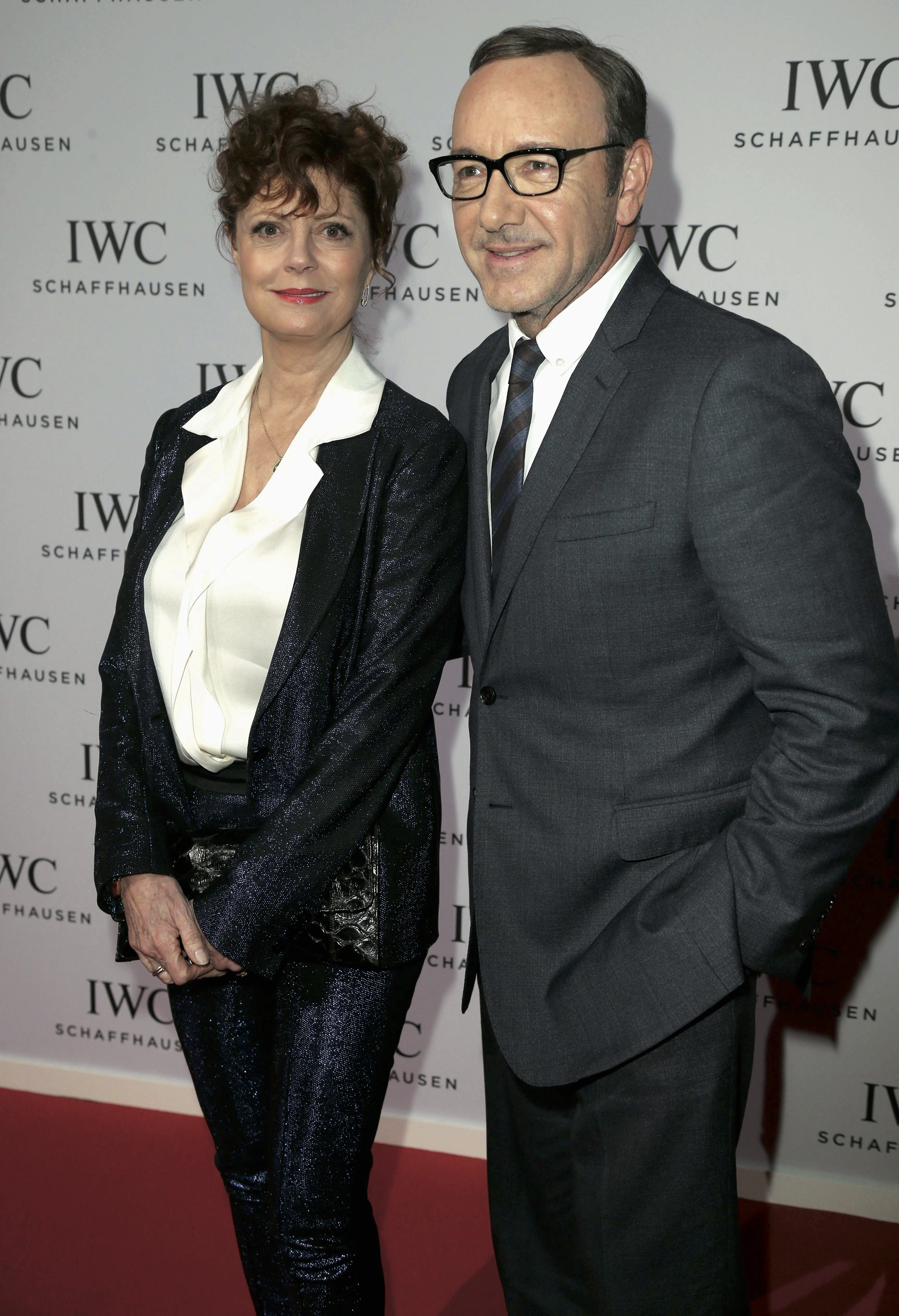 Susan Sarandon and Kevin Spacey in IWC.