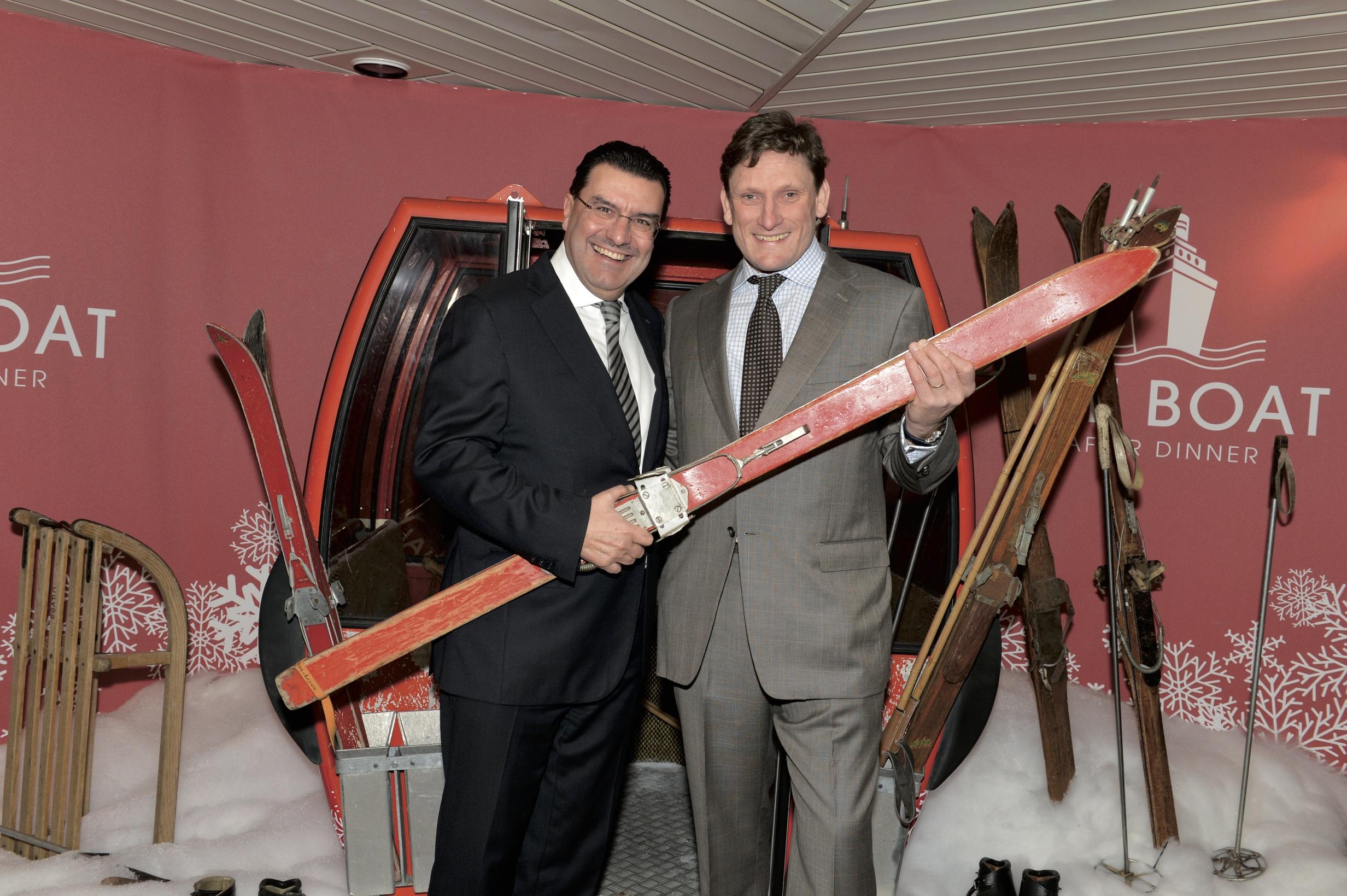 Juan-Carlos Torres, CEO, Vacheron Constantin. Stephen Forsey, Greubel and forsey.