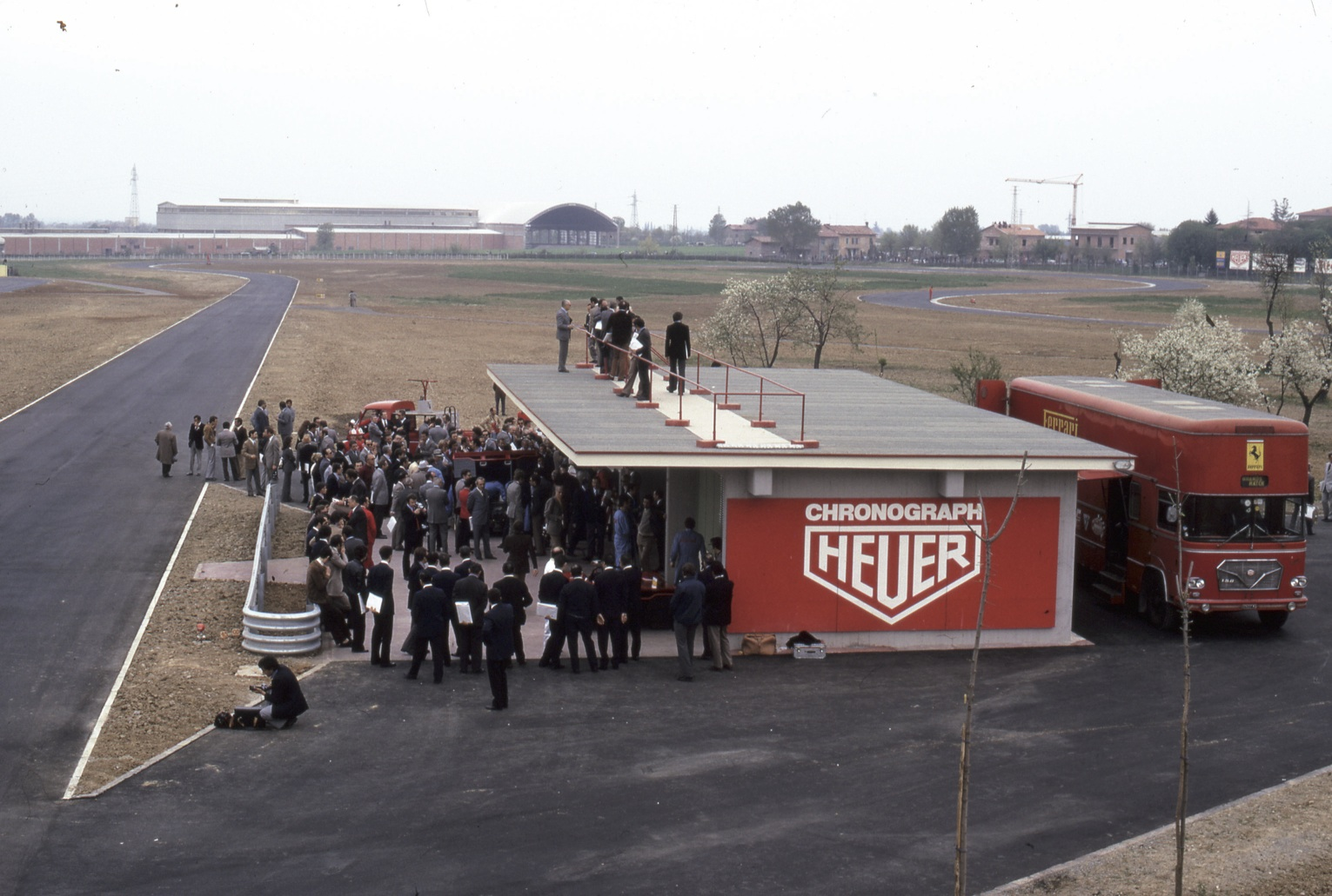 The opening of Scuderia Ferrari Fiorano Track.