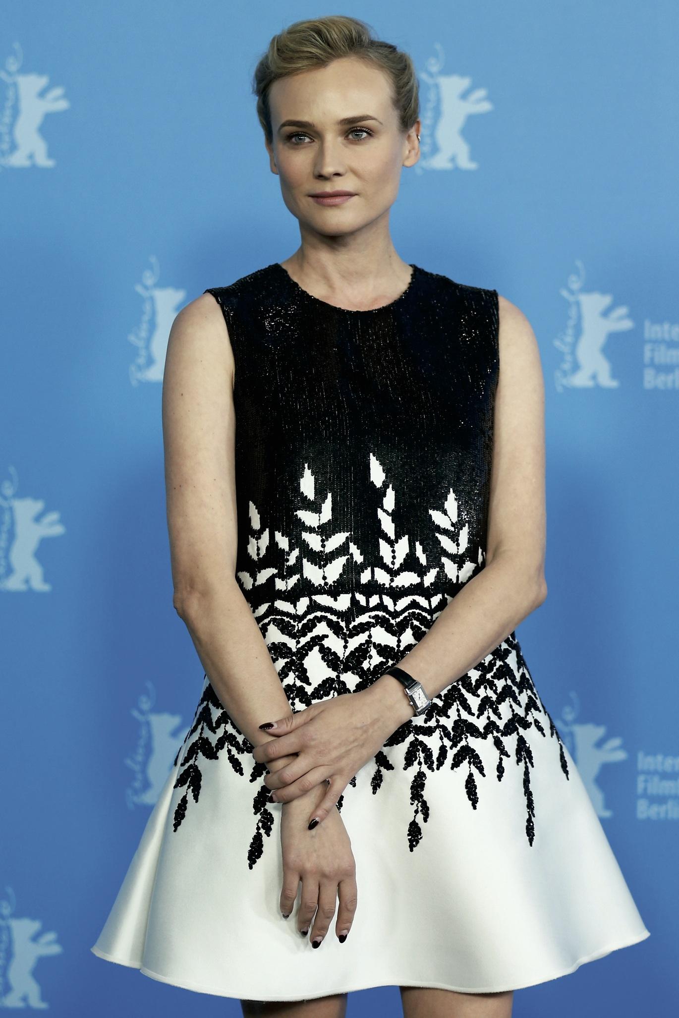 Diane Kruger in Jaeger-LeCoultre.