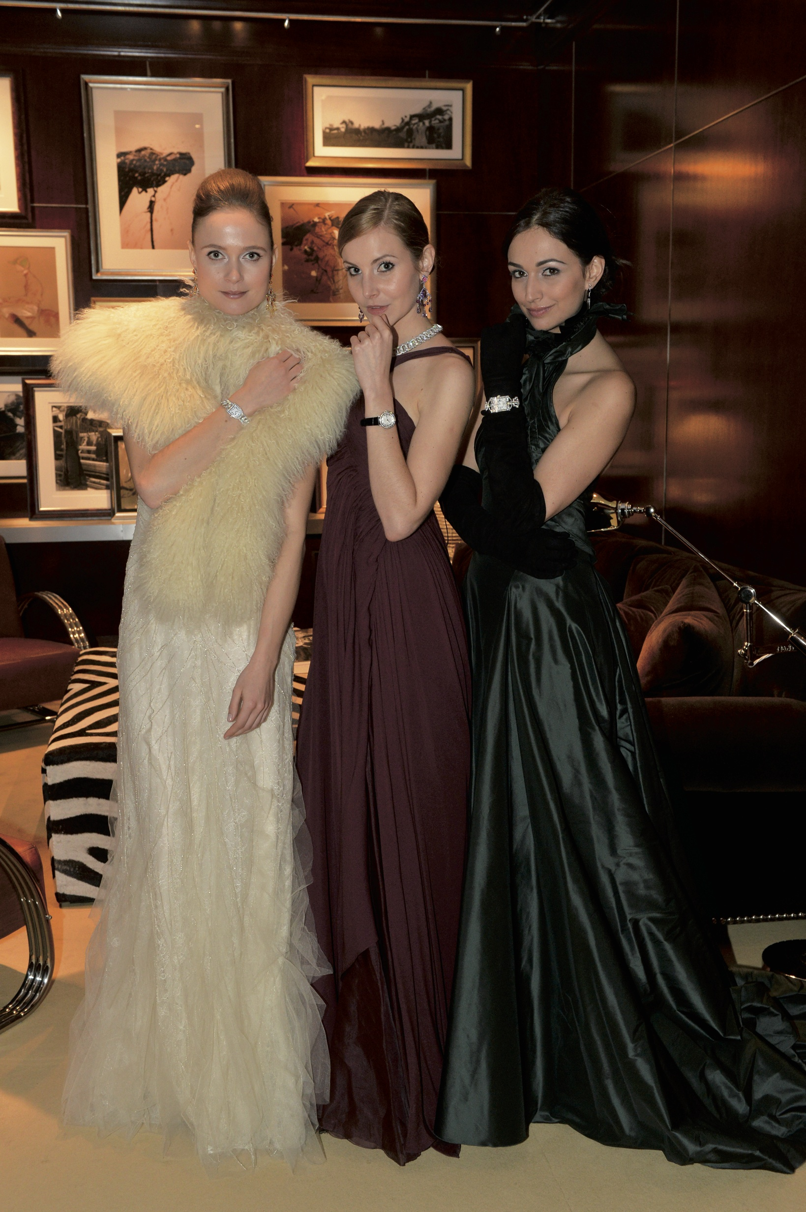 Models from Ralph Lauren.
