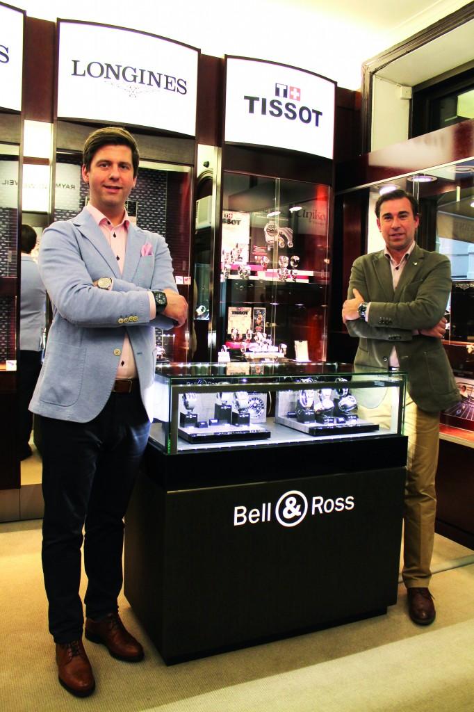 Owner Mathias Fredriksson and Carl Christensson,  Fredmans Ur.