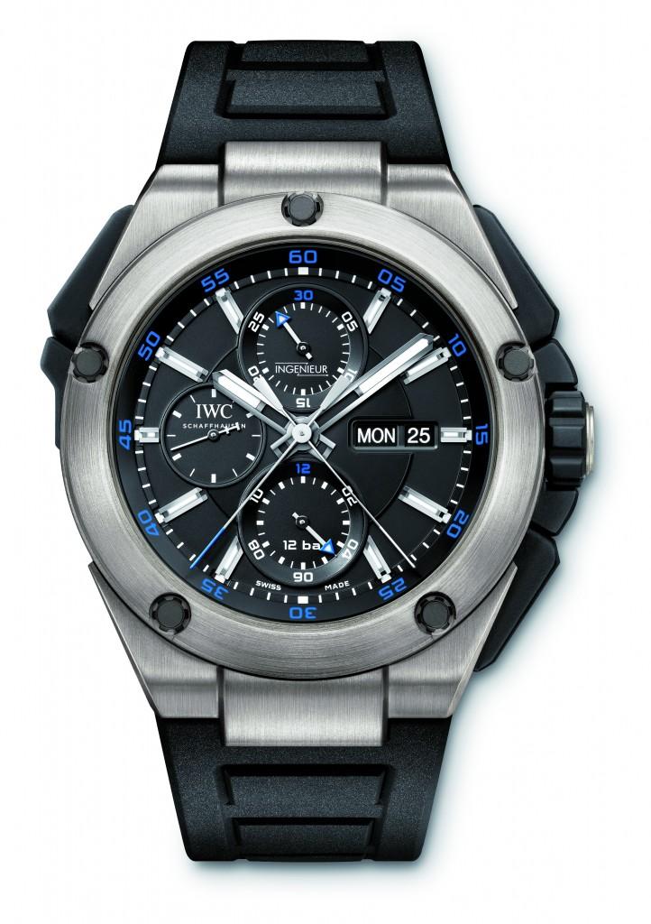 Ingenieur double chronograph titanium.
